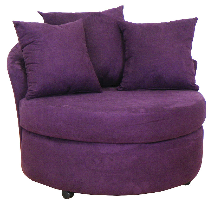 650 Swivel Circle Lounge Chair - Choice of Colors $349