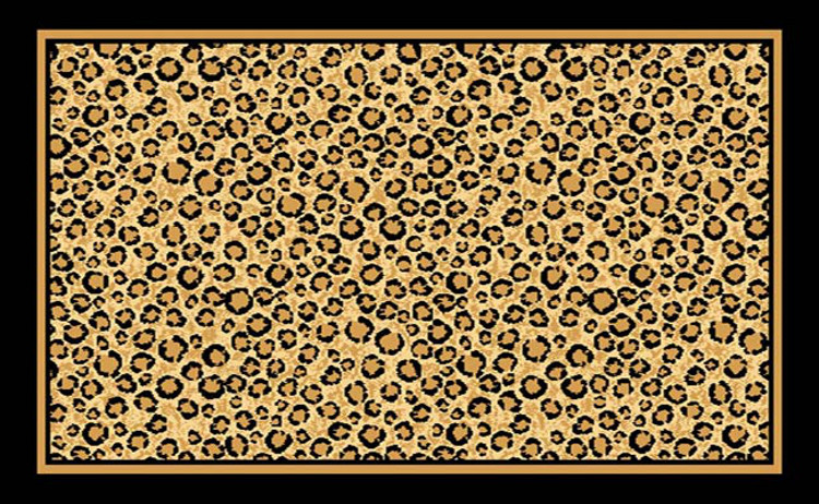 Leopard Print Area Rug  $59.9