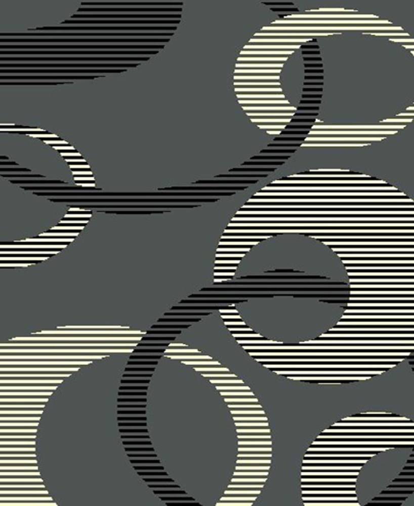 RM6 Moderno Area Rug (6' x 8')Grey $59.9