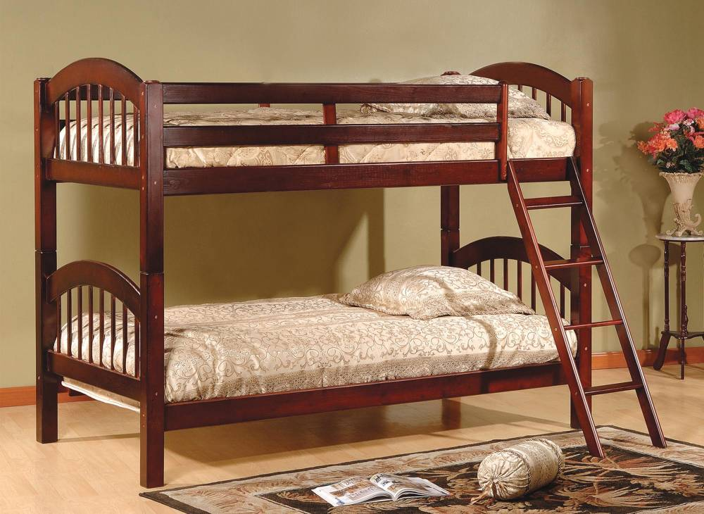 Twin/Twin Stackable Wood Bunkbed ~ Cherry $298.9