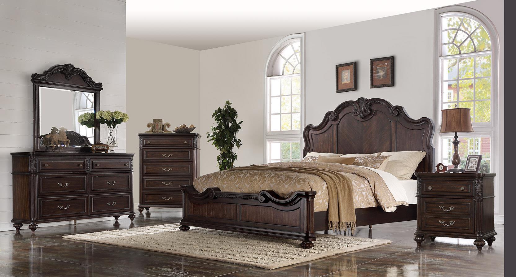 1610 Nottingham Queen 5 Piece Bedroom Set  $1559