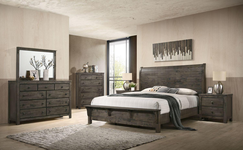 8108 Hemsworth 5 Piece Bedroom Suite - Queen $1405.99