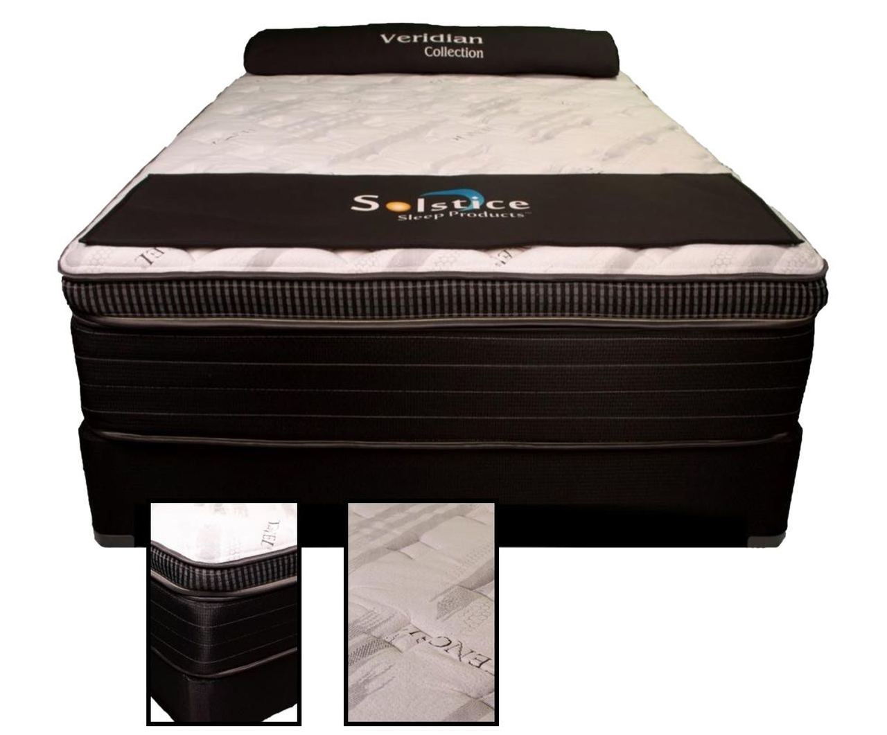 Bellengrath BT II King 6/6 Hybrid Plush Box Top Mattress & Black Foundation $788.98