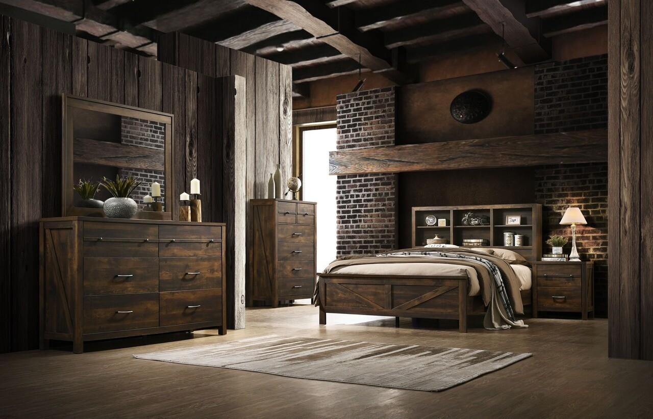 8100 Full Bed & Nightstand $695.99