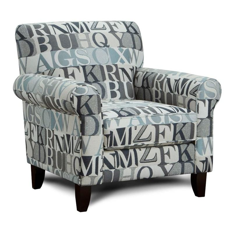 502 Anecdote Blue Accent Chair $419