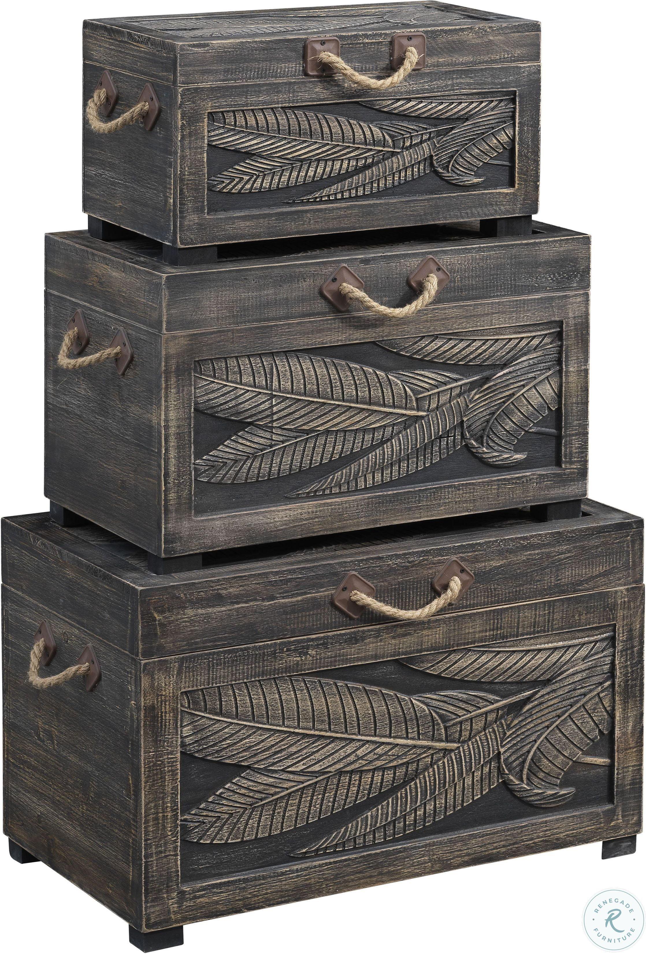48144 3-Piece Nesting Trunks $399.99