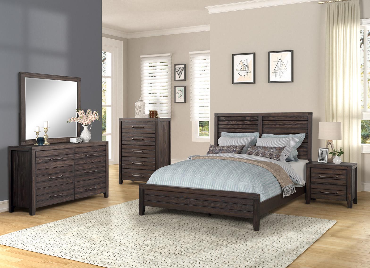 1465 Crestwood  Auburn Queen Bedroom Set $1595