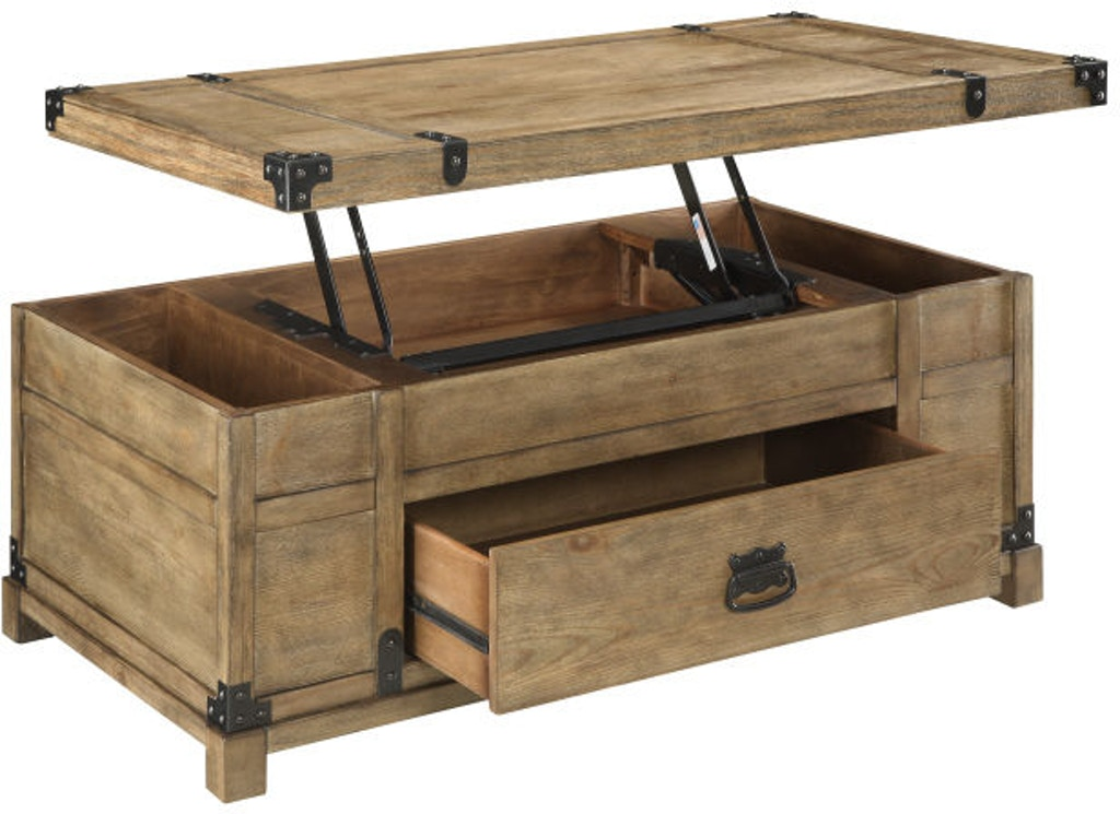 67456 Lift Top Cocktail Table $495