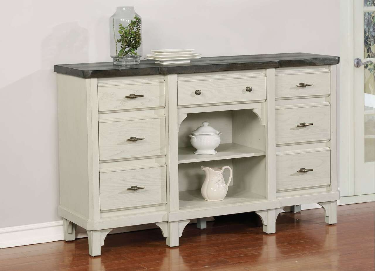 0042 Mystic Cay Weathered Sideboard $759